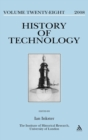 Image for The History of Technology : v. 28