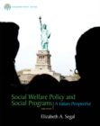 Image for Social welfare policy and social programs