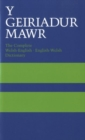 Image for Y geiriadur mawr  : the complete Welsh-English/English-Welsh dictionary
