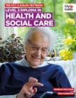 Image for Level 3 diploma in health and social care textbook