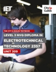 Image for Level 3 NVQ Diploma in Electrotechnical Technology 2357 Unit 309 Textbook