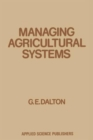 Image for Managing Agricultural Systems