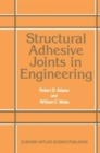 Image for Structural Adhesive Joints in Engineering