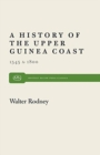 Image for A History of the Upper Guinea Coast, 1545-1800