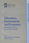Image for Education, environment and economy