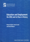 Image for Education and employment  : the DfEE and its place in history