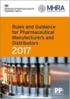 Image for Rules and guidance for pharmaceutical manufacturers and distributors 2017