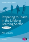 Image for Preparing to teach in the lifelong learning sector  : the new award
