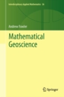 Image for Mathematical geoscience : v. 36