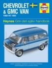 Image for Chevrolet & GMC vans (Swedish) owner's workshop manual