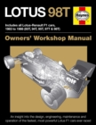 Image for Lotus 98T  : includes all Lotus-Renault F1 cars, 1983 to 1986 (93T, 94T, 95T, 97T & 98T)