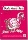 Image for Dodo Acad-Pad Filofax-Compatible A5 Diary Refill 2015 - 2016 Week to View Academic Mid Year Diary : A Combined Mid-Year Diary-Doodle-Memo-Message-Engagement-Calendar-Book for Students, Teachers and Sc