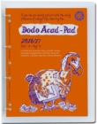 Image for Dodo Acad-Pad A4 Diary 2016 - 2017 Mid Year / Academic Year, Week to View c/w Binder : A Combined Doodle-Memo-Message-Engagement-Calendar-Organiser-Planner for Students and Teachers
