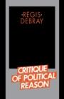 Image for Critique of Political Reason