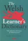 Image for The Welsh learner's dictionary