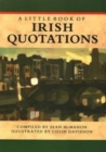 Image for A Little Book of Irish Quotations