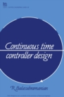 Image for Continuous Time Controller Design