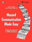 Image for Hazard Communication Made Easy : A Checklist Approach to OSHA Compliance