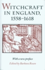 Image for Witchcraft in England, 1558-1618