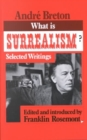 Image for What is surrealism?  : selected writings