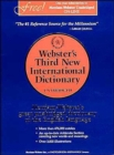 Image for Webster's Third New International Dictionary