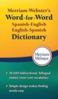 Image for Merriam Webster's word-for-word Spanish-English dictionary