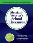 Image for Merriam-Webster's school thesaurus
