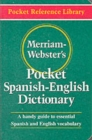 Image for Merriam-Webster's pocket Spanish-English dictionary