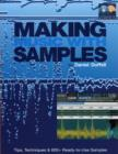 Image for Making music with samples  : tips, techniques & 600+ ready-to-use samples