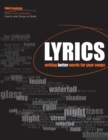 Image for Lyrics  : writing better words for your songs