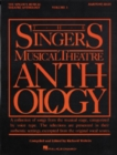 Image for The singer's musical theatre anthologyVolume 1: Baritone/bass