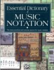 Image for Essential Dictionary of Music Notation