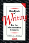 Image for Handbook of writing for the mathematical sciences