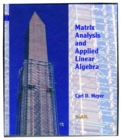 Image for Matrix Analysis and Applied Linear Algebra Book and Solutions Manual