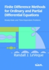 Image for Finite Difference Methods for Ordinary and Partial Differential Equations : Steady-state and Time-dependent Problems