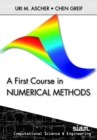 Image for A first course in numerical methods