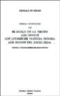 Image for El Duelo de la Virgen, Los Himnos, Los Loores de Nuestra Senora, Los Signos del Juicio Final (Obras Completas III)