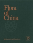 Image for Flora of China, Volume 15 - Myrsinaceae through Loganiaceae
