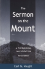Image for The Sermon on the Mount : A Theological Investigation