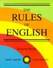 Image for The Rules of English
