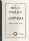 Image for The Rules of English : Answers
