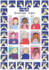 Image for Let's Sign: BSL Greetings Signs and Fingerspelling A2 Wallchart