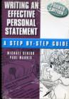 Image for Writing an Effective Personal Statement : A Step by Step Guide