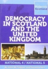 Image for Democracy in Scotland and the United Kingdom : National 4/National 5