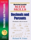 Image for Mastering Essential Math Skills : Decimals and Percents