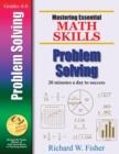 Image for Mastering Essential Math Skills : Problem Solving