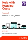 Image for Help with housing costsVolume 2,: Guide to housing benefit 2017-18