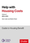 Image for Help with housing costsVolume 2,: Guide to housing benefit 2018-19