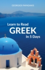 Image for Learn to Read Greek in 5 Days