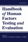 Image for Handbook of Human Factors Testing and Evaluation